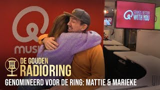 """Mattie en Marieke genomineerd voor Gouden RadioRing: """"Wat een eer!"""""""