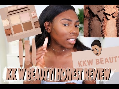 I TRIED TO BE NICE - KKW BEAUTY CONTOUR & HIGHLIGHT KIT FIRST IMPRESSIONS REVIEW