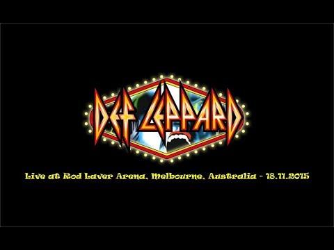 Def Leppard - Live at Rod Laver Arena, Melbourne, Australia 2015