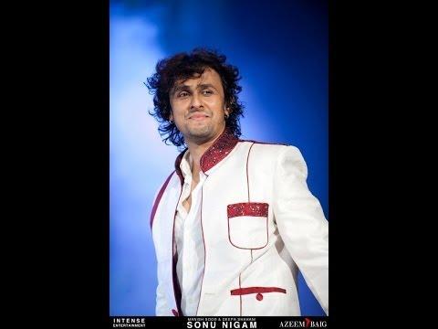 Sonu Nigam sings Famous Qawali Song Live in Mumbai !!