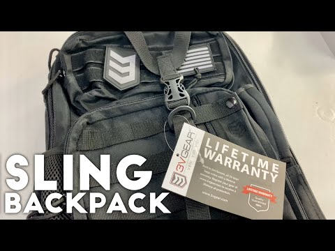 Outlaw II Gear Slinger Shoulder Sling Pack by 3V Gear Review