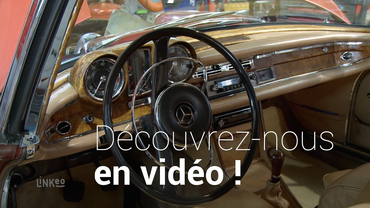 Garage mercedes benz voiture de collection 92 etoile collections youtube - Garage voiture collection ...