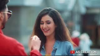 Aaj Kal Tere Mere Pyaar Charche | Romantic Whatsapp Status || AS CREATION