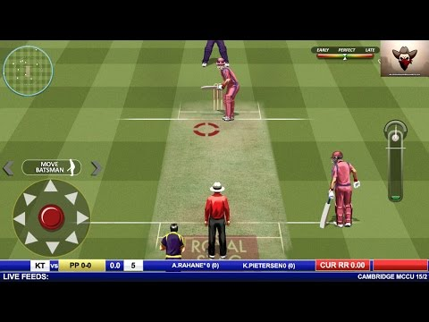 Real Cricket™ Premier League - Android Gameplay Full HD (By Nautilus Mobile)