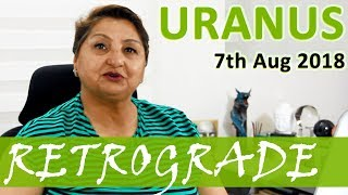 Uranus Goes Retrograde TODAY: The Wildcard - Unexpected, Unpredictable And Out Of The Box