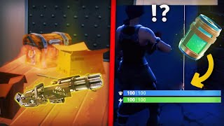LA MEGA POTION CHEAT EST DINGUE + NOUVELLE ARME SURPUISSANTE (Fortnite Battle Royale)