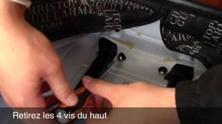 comment réparer poignée valise