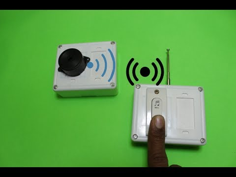 How to make a Simple wireless Doorbell at home