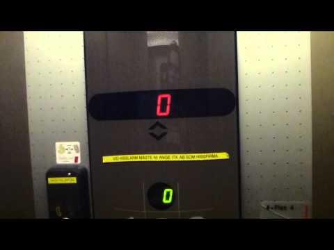 Schindler Smart 002 Mrl Traction elevator @ Kungssätravägen 25A, Sätra