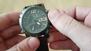 Чоловічі годинники Naviforce Life / 9095. Як налаштувати, інструкція. Відео огляд!