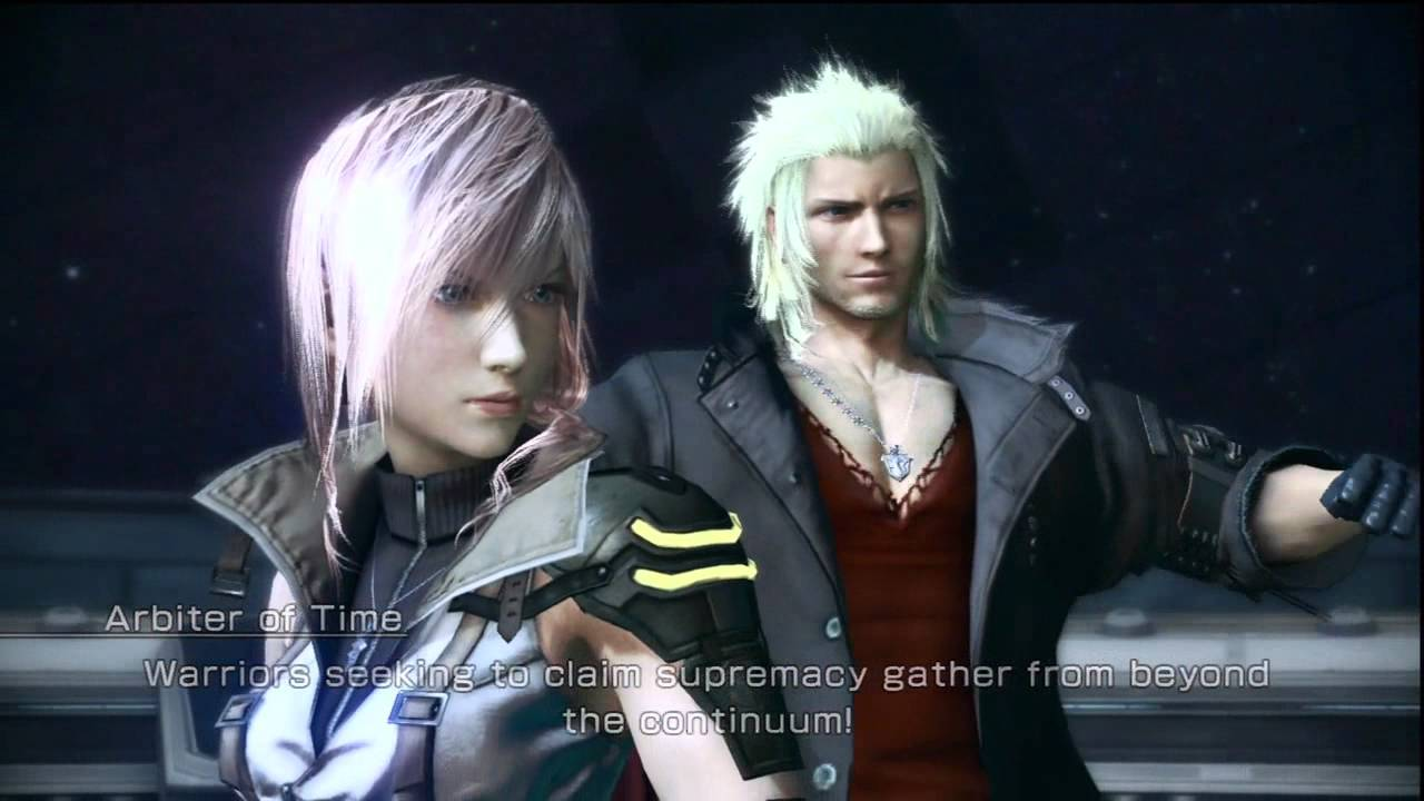 Final Fantasy Xiii Lightning Wallpaper Hd Final Fantasy Xiii 2 Snow Dlc Coliseum Intro Cutscene