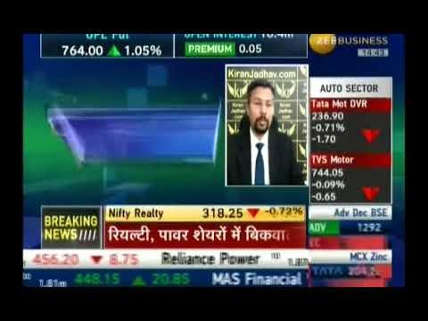 Kiran Jadhav, Technical Analyst, KiranJadhav.com on Zee Business 28th Nov 2017