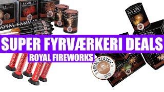 SUPER FYRVÆRKERI DEALS 2016-2017 (Royal Fireworks)