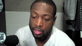 Dwyane Wade on Rajon Rondo's ACL injury