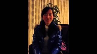중국에서  응원