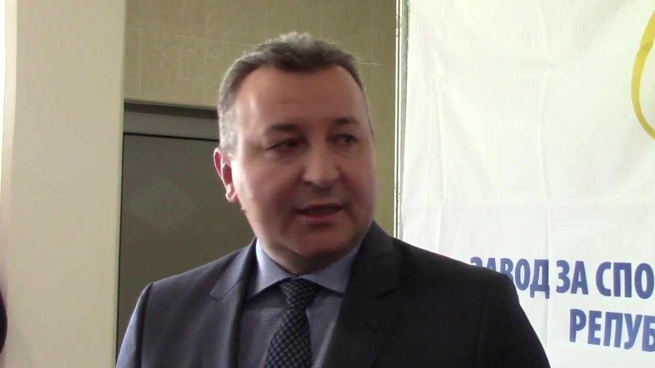 Goran Bojovic Otvaranje Ambulante Za Medicinu Sporta 18 11 2016 Youtube