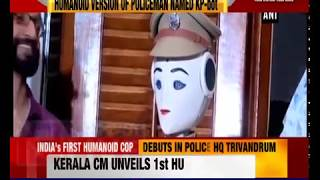 India's first humanoid robot cop debuts in Kerala Police headquarters