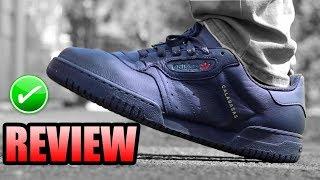 Black Yeezy Powerphase Review ! | Black Calabasas Yeezy On Foot !
