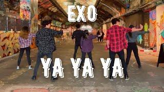 [KPOP IN PUBLIC] [SEGNO] EXO - YA YA YA   Original Choreography Joong & KG   LONDON
