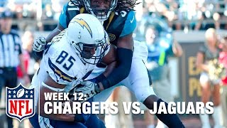 Philip Rivers Lobs the Red Zone TD Pass to Antonio Gates! | Chargers vs. Jaguars | NFL