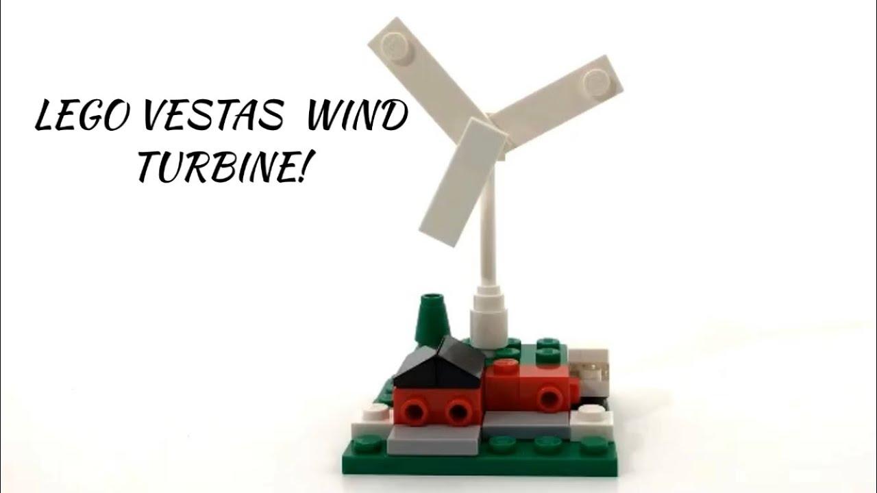 LEGO Vestas Wind Turbine Mini MOC