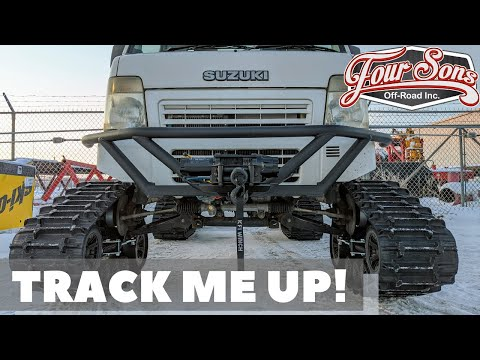 *How To Install Camso Tracks* on a Suzuki Carry Mini Truck!