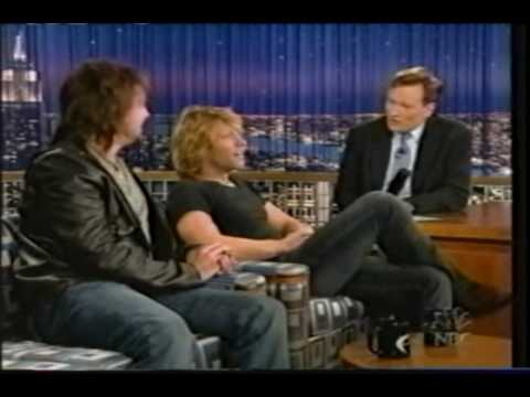 Jon Bon Jovi & Richie Sambora interview at the Late Night with Conan O'Brien