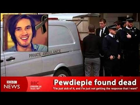 Thumbnail: PEWDIEPIE IS DEAD