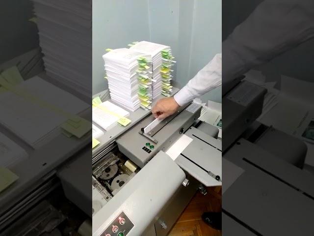 Производственный процесс нашей типографии