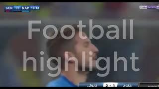 Genoa  vs napoli 1-2 25/10/2017  HD ALL Goal and Highlight