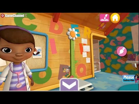 Doc McStuffins Color And Play Playrooms Season Summer Disney Coloring 3D Book Games