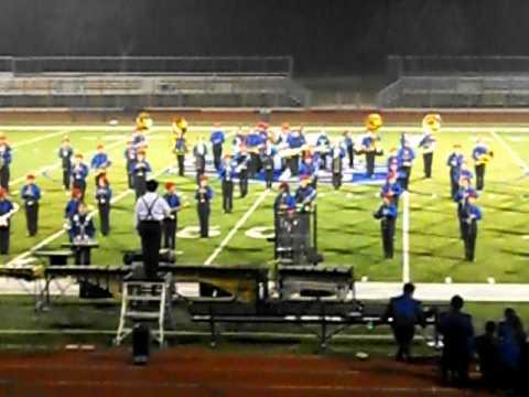 San Gabriel high school 2011 Field show