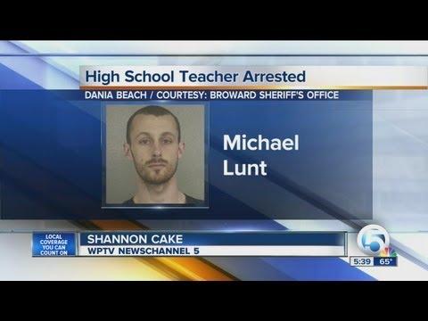 Dania Beach High School teacher arrested
