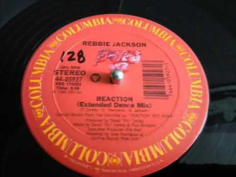 REBBIE JACKSON- REACTION  [EXTENDED DANCE MIX]