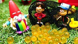 Гравити Фолз: Мейбл - королева гномов?! Видео про игрушки для девочек и мальчиков