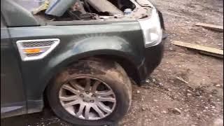 LAND Rover Freelander 2007:Обзор/тест автомобиля на разбор (машинокомплект) из Англии...