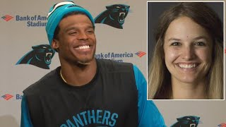 Female Sports Reporter Appalled by NFL Star Cam Newton