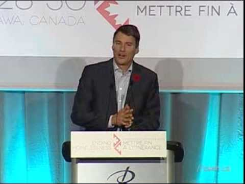 CAEH13 Keynote Speaker - Mayor Gregor Robertson, Vancouver