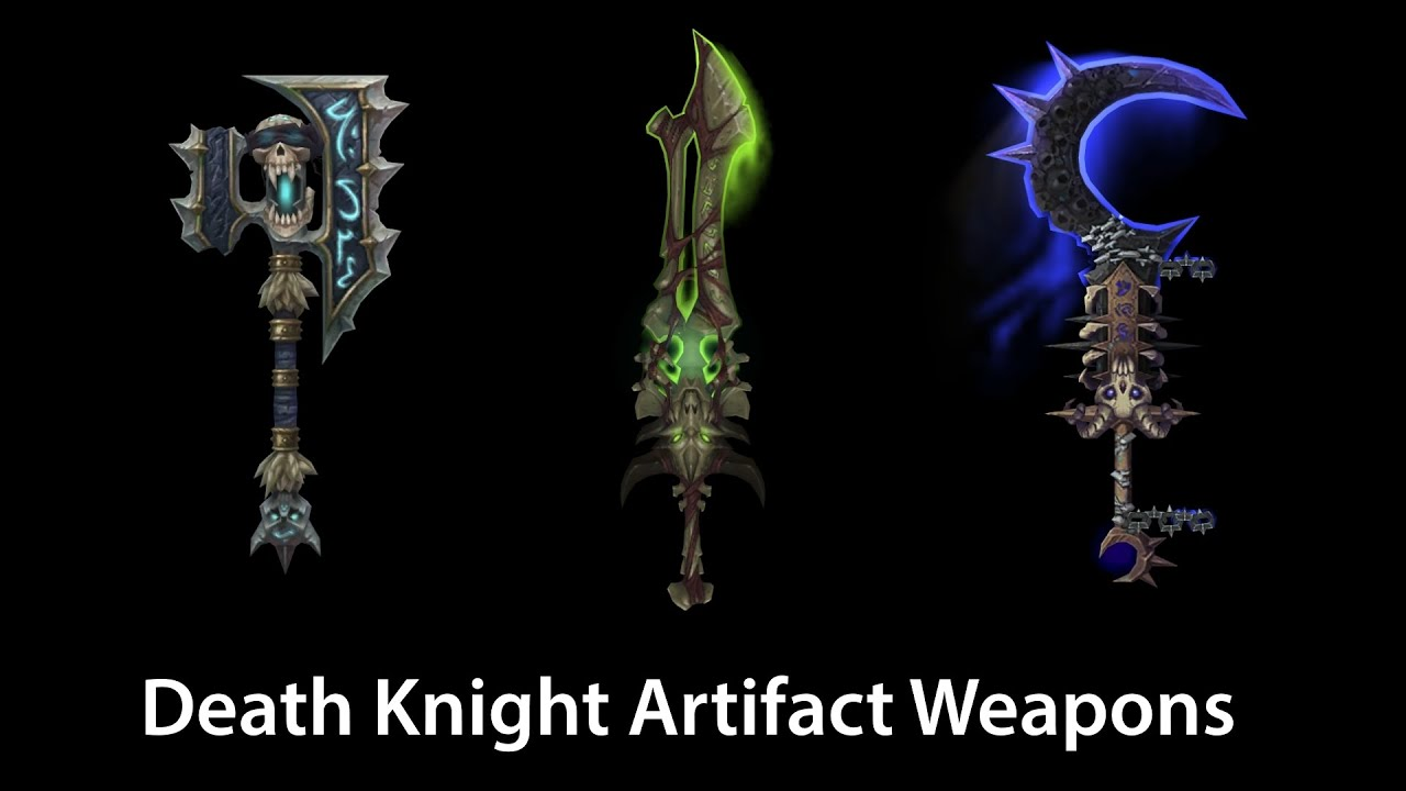 Wow fist weapons death knights