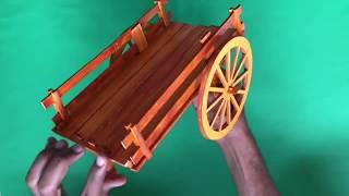 making of bullock cart prototype #vsap #assignment