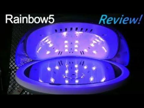 RAINBOW5 LED/UV LAMP REVIEW | ABSOLUTE NAILS