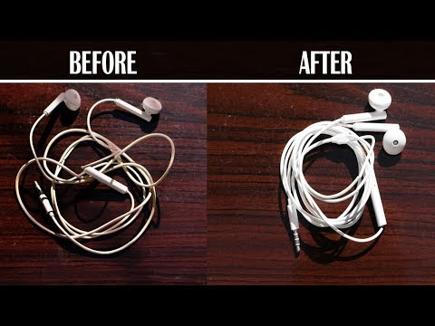 How to Clean Dirty Earphones Wire at Home - Whitening Formula