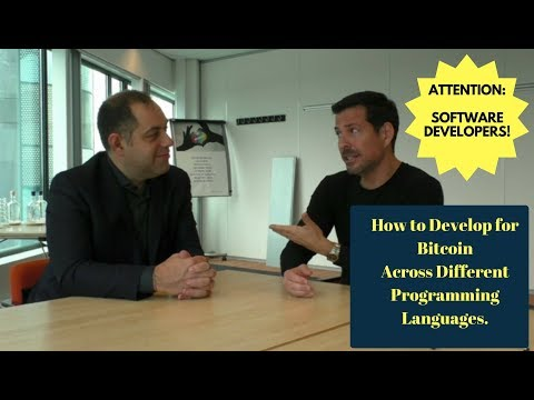 Can You Develop Software For Bitcoin And Blockchain Across Different Programming Languages?