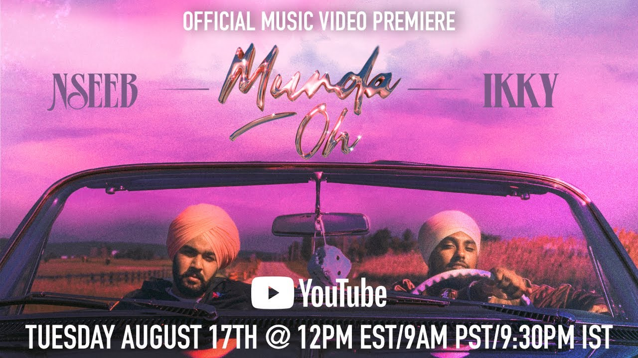 NseeB, Ikky - Munda Oh (Official Music Video) - TRAILER