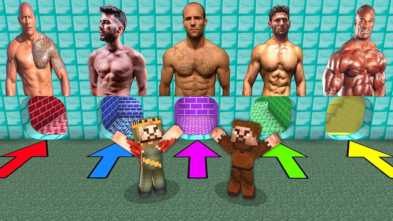 YANLIŞ KASLI ADAM MAĞARASINI SEÇERSEN ÖLÜRSÜN! 😱 - Minecraft
