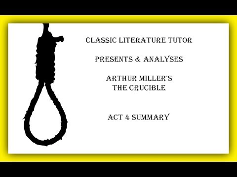 a comprehensive analysis of the crucible a play by arthur miller