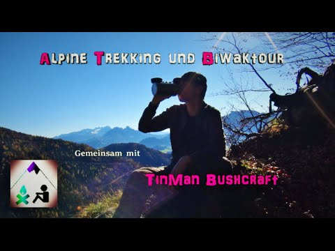 Alpine Trekking & Biwak-Tour - TinMan Bushcraft - Outdoor Bavaria HD / HQ