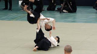 EXPLOSIVE Daito-ryu Aiki-jujutsu - 42nd Japanese Kobudo Demonstration (2019)