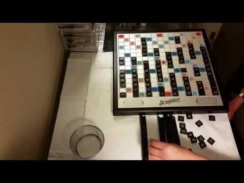#29 ASMR Scrabble Game Tiles! (silent)
