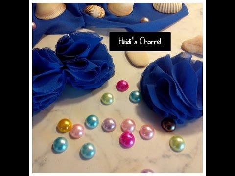 Fiori di stoffa fai da te fiori fatti a mano riciclo for Tutorial fermaporta di stoffa
